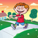 Hypnotized Kid Walking Towards Aroma in Air - GraphicRiver Item for Sale