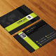 Modern Corporate Business Card AN0465 - GraphicRiver Item for Sale