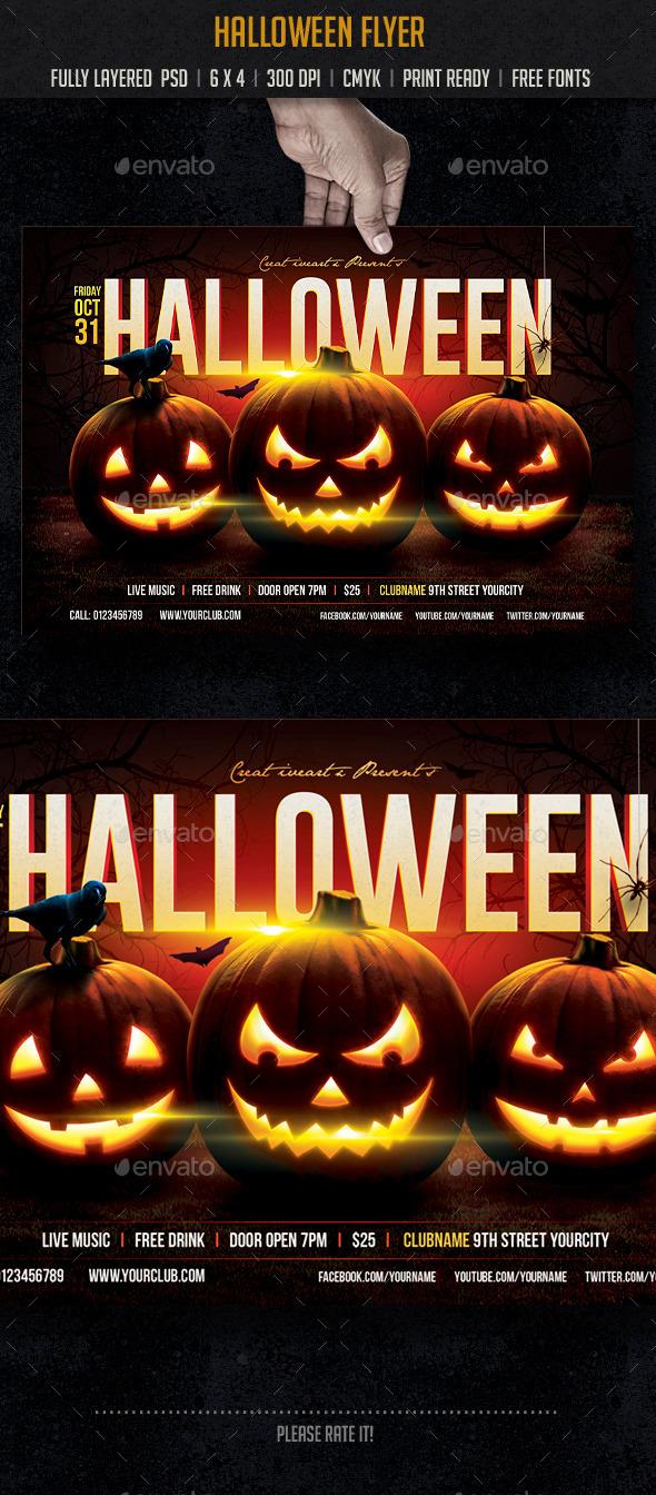GraphicRiver Halloween 8895250