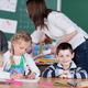 Young female teacher in kindergarten class - PhotoDune Item for Sale