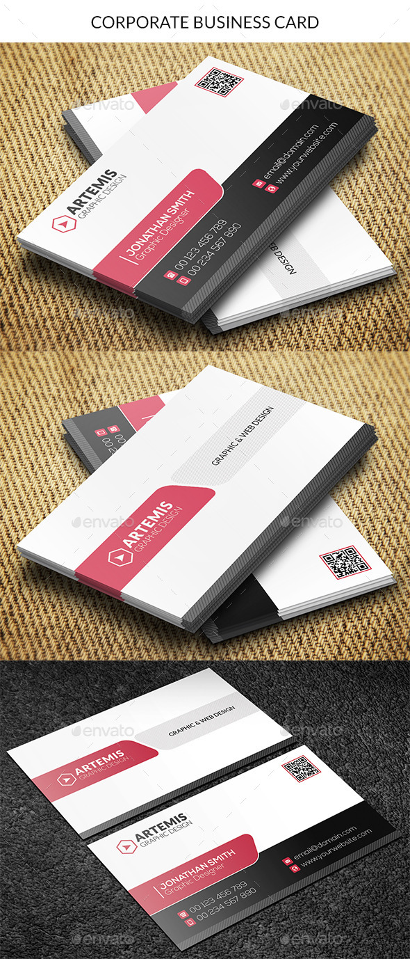 GraphicRiver Corporate Business Card 8895603