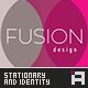Fusion Series - Stationary & Identity - GraphicRiver Item for Sale