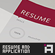 Resume Set - Vol.4 - GraphicRiver Item for Sale