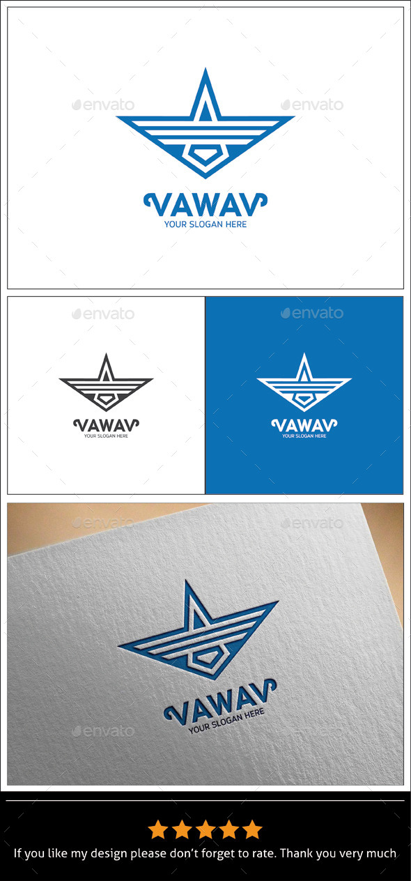 GraphicRiver Vawav Logo Templates 8896096