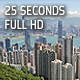 Hong Kong Victoria Peak Timelapse at Daytime - VideoHive Item for Sale
