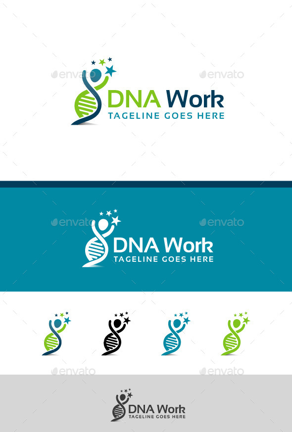 GraphicRiver DNA Work 8896119