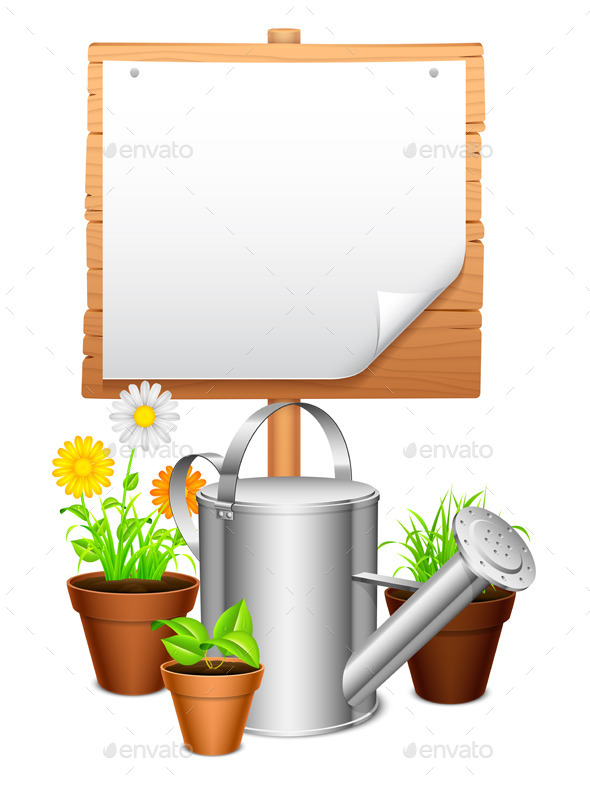 GraphicRiver Garden Equipment 8896123