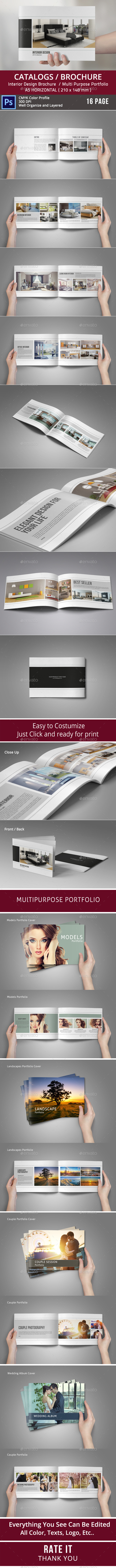 GraphicRiver Multipurpose Brochure or Portfolio Album 8896214