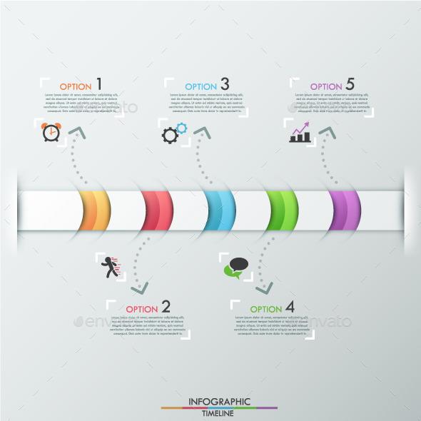 Modern Infographic Timeline