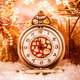 Christmas pocket watch - PhotoDune Item for Sale