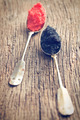 black and red caviar in spoon - PhotoDune Item for Sale