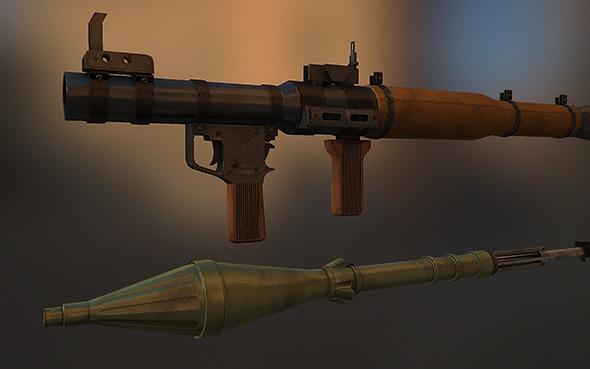 3DOcean RPG-7 8897114
