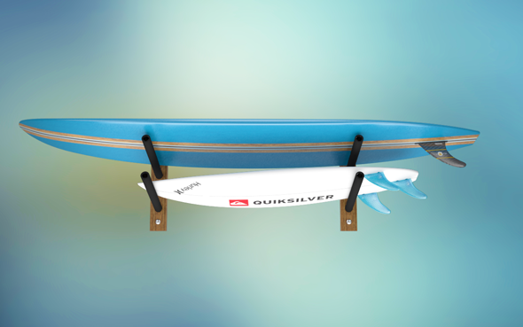 Surfboards and Rack - 3DOcean Item for Sale