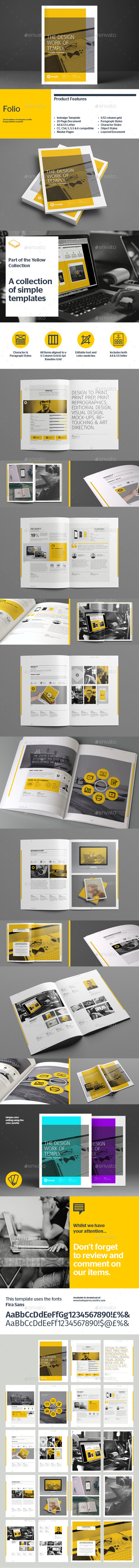 GraphicRiver Folio Template 8897328
