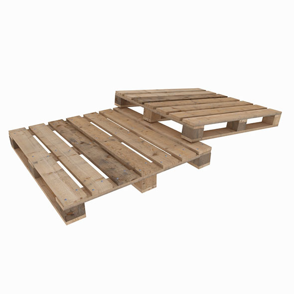 3DOcean Wood delivery pallete 8897370