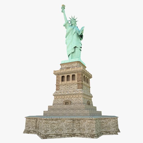 3DOcean Statute of Liberty 8897422