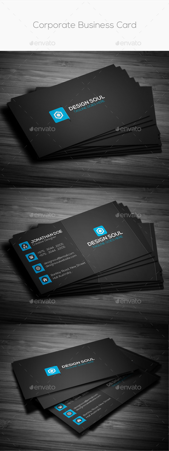 GraphicRiver Corporate Business Card 8897492