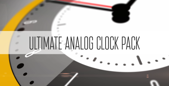 Ultimate Analog Clock Pack