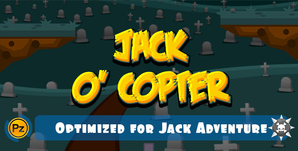CodeCanyon Jack Copter Android IOS and HTML5 8897629