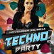 Party Flyer Template - Techno - GraphicRiver Item for Sale