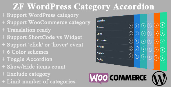 CodeCanyon ZF WordPress Category Accordion 8849504