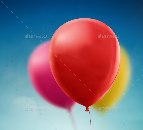 GraphicRiver Colorful Balloons 8897830