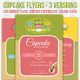 Cupcake Art Contest and Bakery Flyers  - GraphicRiver Item for Sale