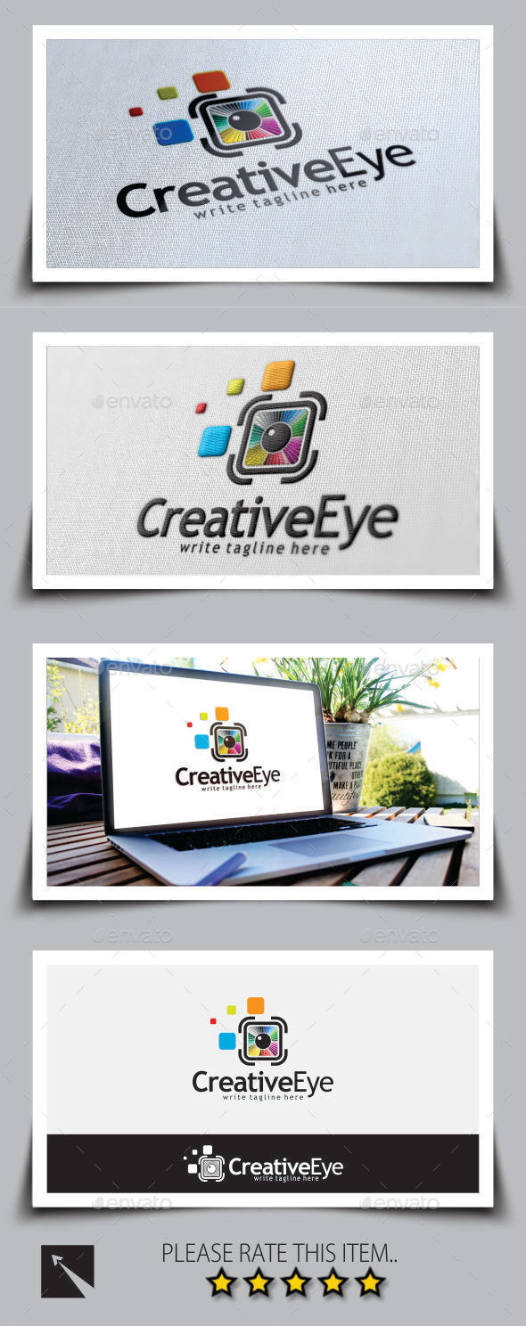 GraphicRiver Creative Eye Logo Template 8898581