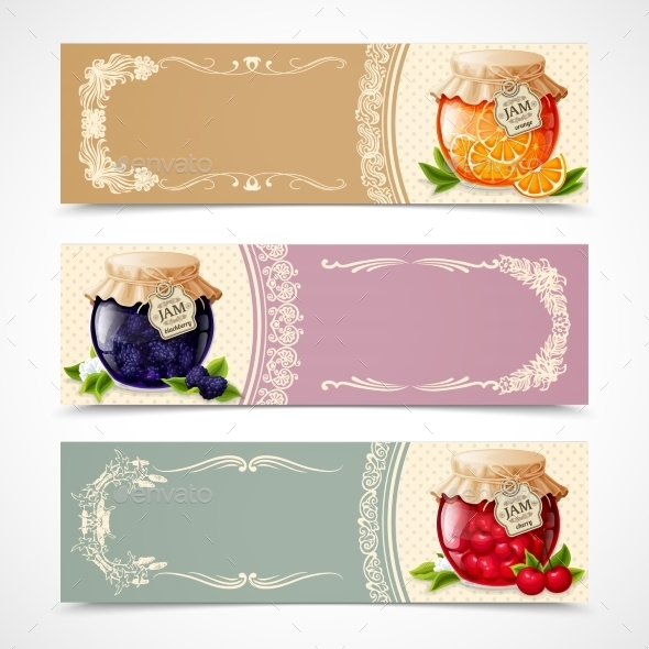 GraphicRiver Jam Banners Set 8898605