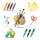 Paint Tools Set - GraphicRiver Item for Sale