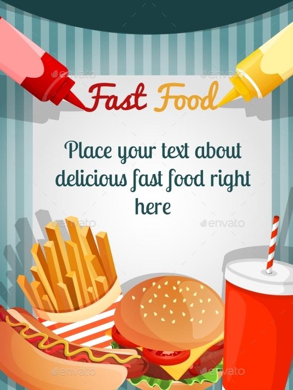 GraphicRiver Fast Food Menu Poster 8898665