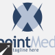Xpoint Letter (X) Logo Template - GraphicRiver Item for Sale