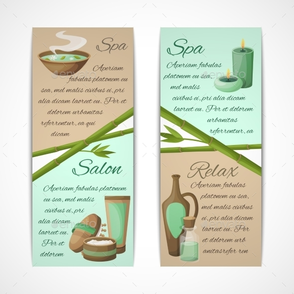 GraphicRiver Spa Banners Vertical 8898678