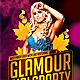 Glamour Girls Party Flyer