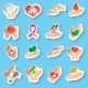 Charity and Donation Stickers - GraphicRiver Item for Sale