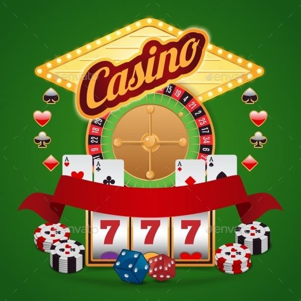 GraphicRiver Casino Elements Set 8898793