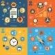 Modern Web Concepts Set - GraphicRiver Item for Sale
