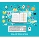 Online Education Concept - GraphicRiver Item for Sale