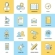 Business Icons Flat Line Set - GraphicRiver Item for Sale