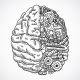 Brain as Processing Machine - GraphicRiver Item for Sale