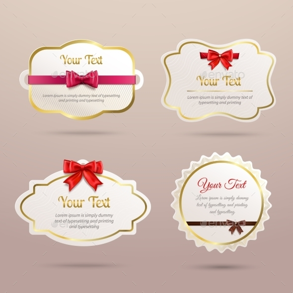 GraphicRiver Gift Labels Set 8899084