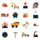 Coal Industry Icons - GraphicRiver Item for Sale