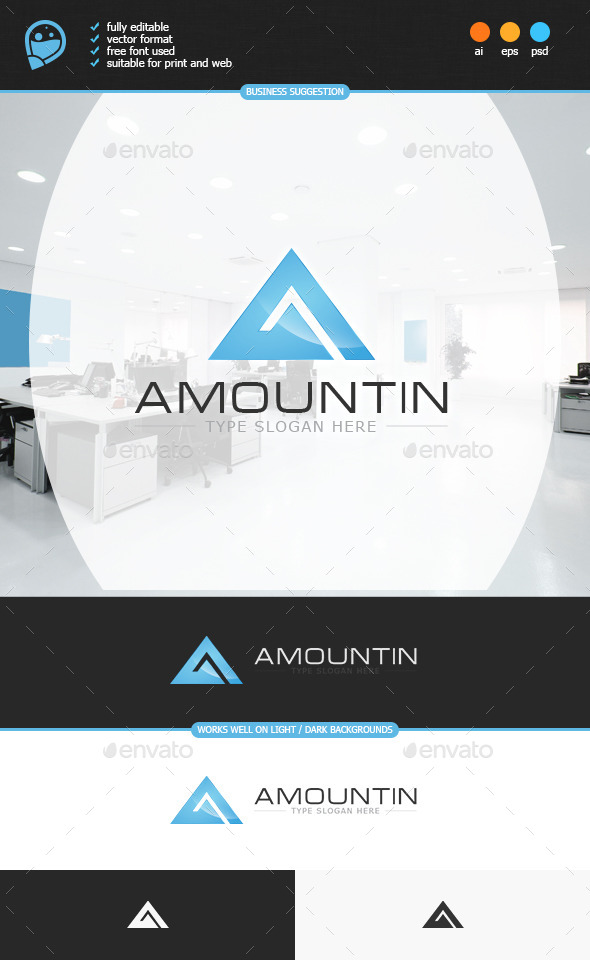 GraphicRiver Amountin Logo Template 8899195