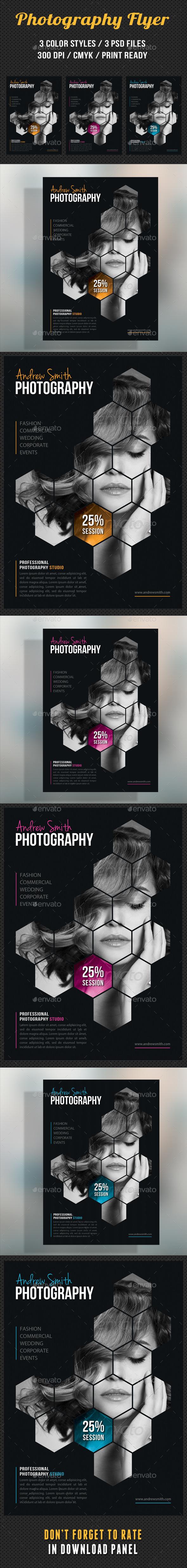 GraphicRiver Photography Studio Flyer 10 8899203