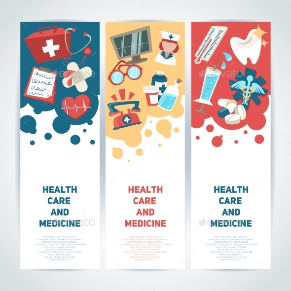 GraphicRiver Medical Vertical Banners 8899214