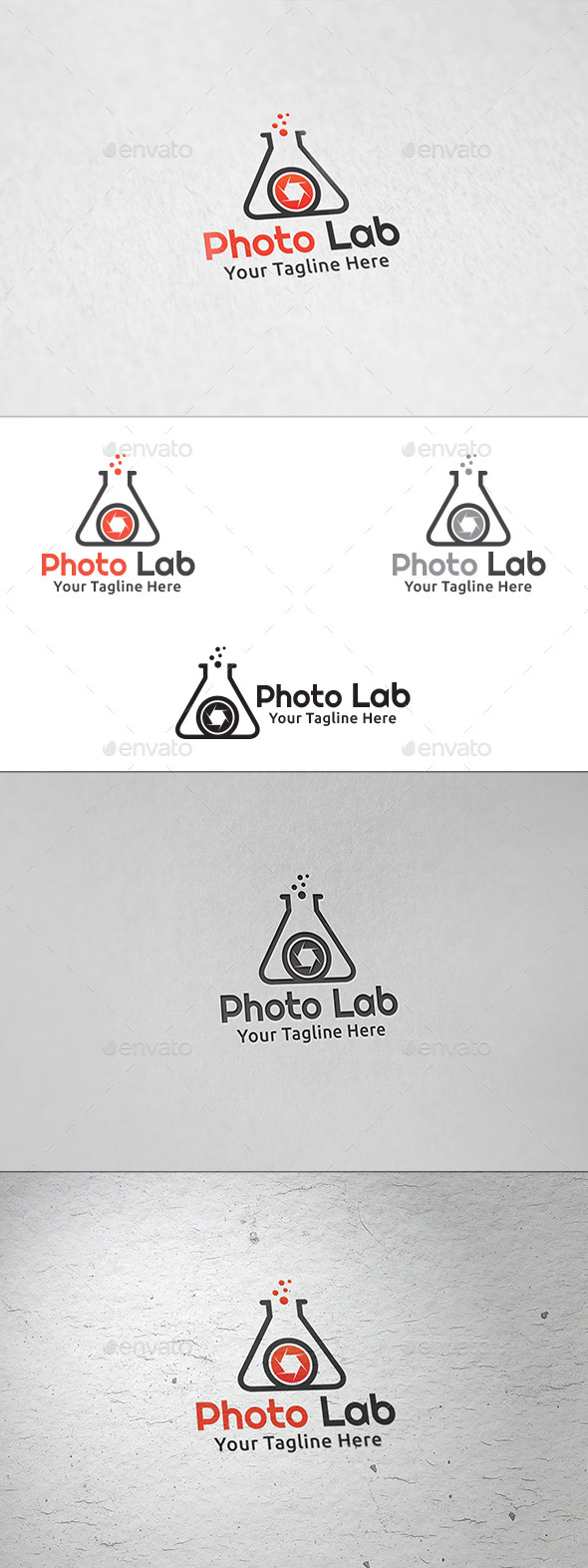 GraphicRiver Photo Lab Logo Template 8899254