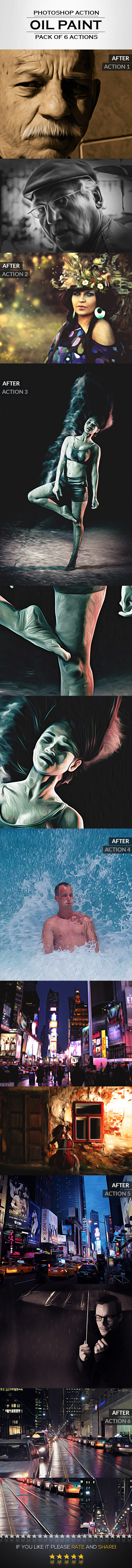 GraphicRiver Oil Painting Photo Actions 8899257