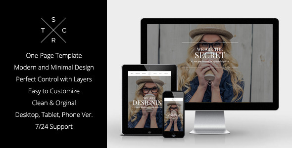 ThemeForest Secret Elegant Muse Theme 8899403