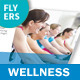 Wellness Center Flyers – 4 Options - GraphicRiver Item for Sale