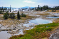 One of the many scenic landscapes of  Yellowstone National Park, - PhotoDune Item for Sale
